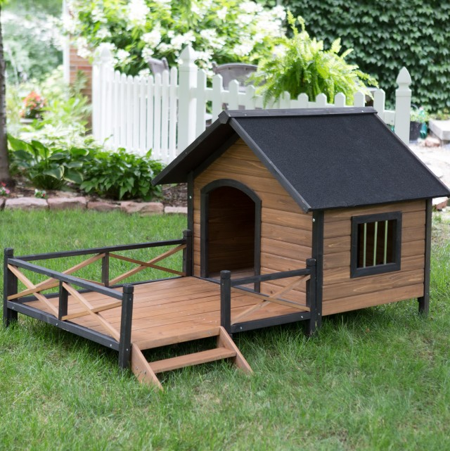 Free Dog House Plans With Porch
