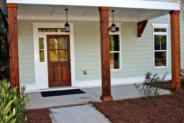 Front Door Covered Porch