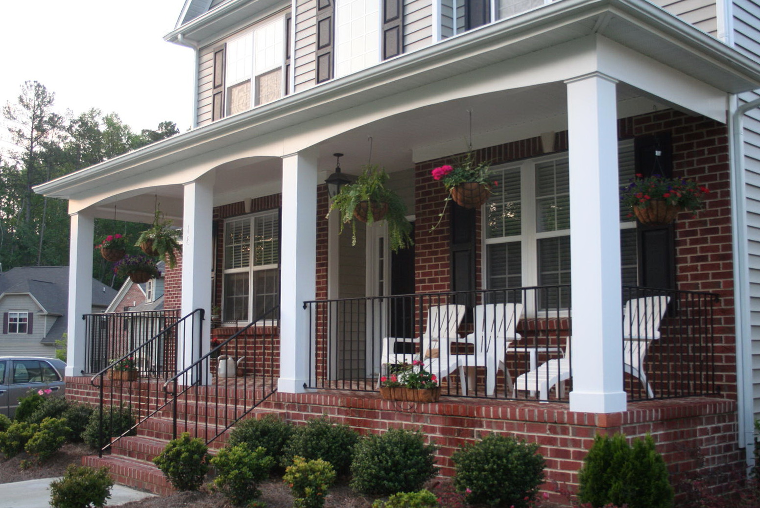 Front Porch Add On Designs