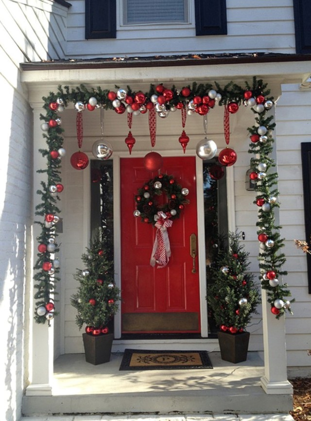 Front Porch Christmas Ideas Pinterest