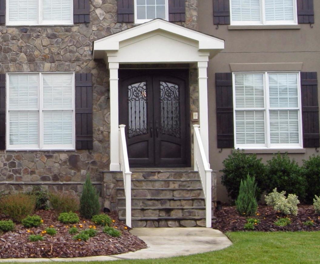 Front Porch Construction Details