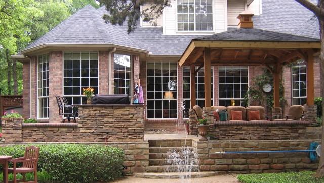 Front Porch Deck Construction