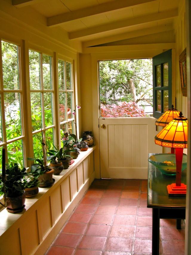 Front Porch Glass Enclosure