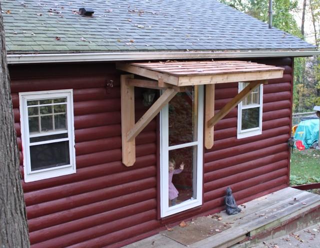 Front Porch Overhang Plans