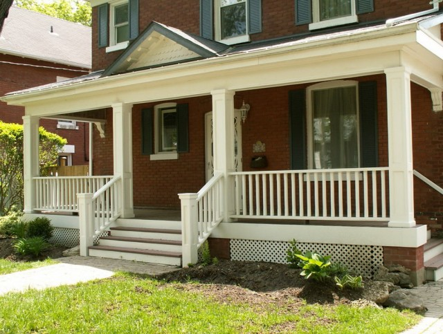 Front Porch Rail Ideas