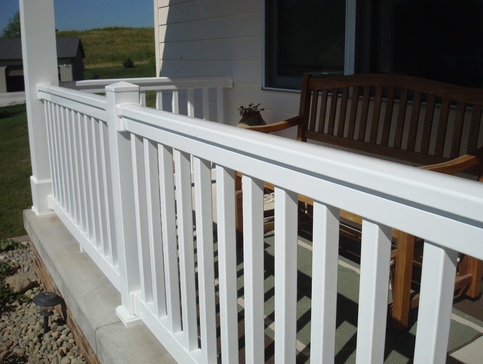 Front Porch Railing Kit