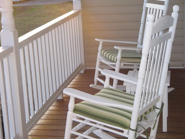 Front Porch Rocking Chair Plans