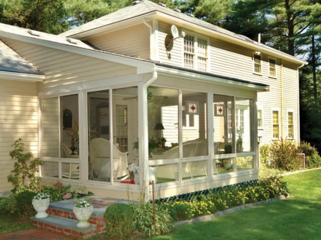 Front Porch Screen Enclosures
