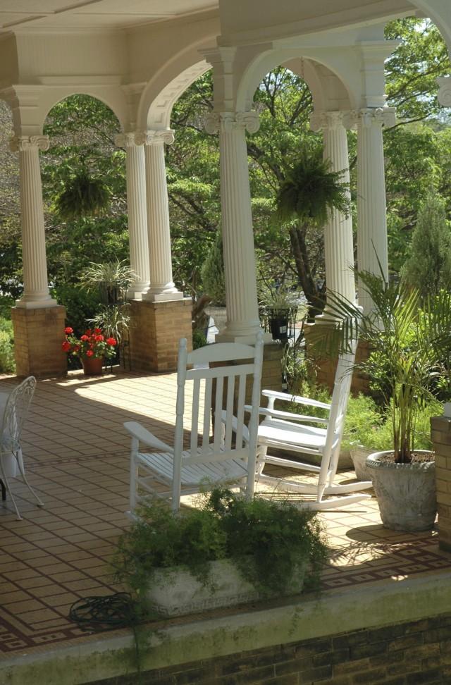 Front Porch Tile Designs