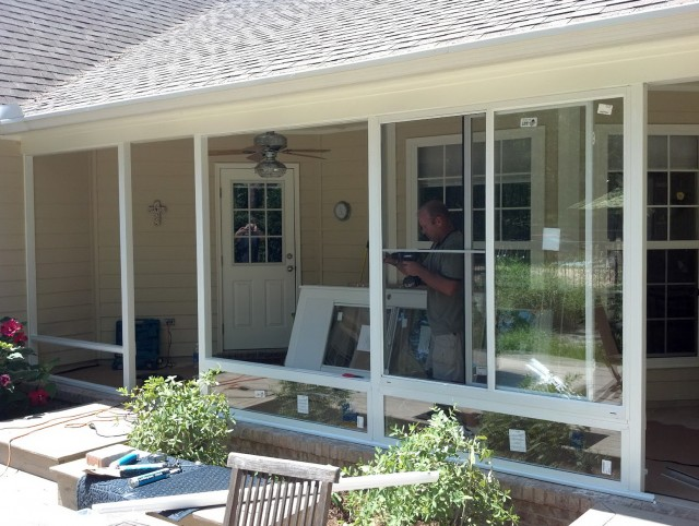 Glass Porch Enclosure Panels