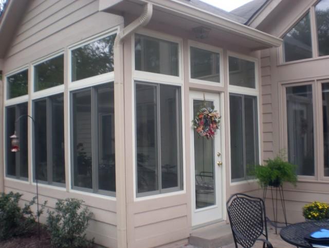 Glass Porch Enclosure Windows