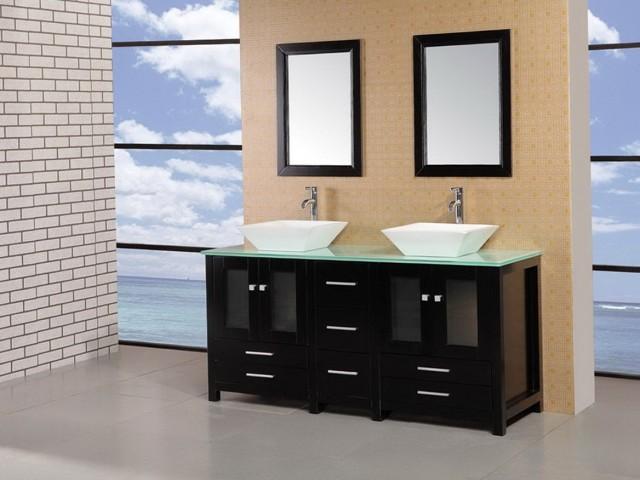 Glass Vanity Top For Vessel Sink