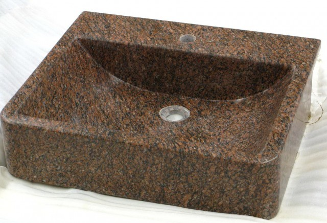 Granite Bathroom Vanity With Sink