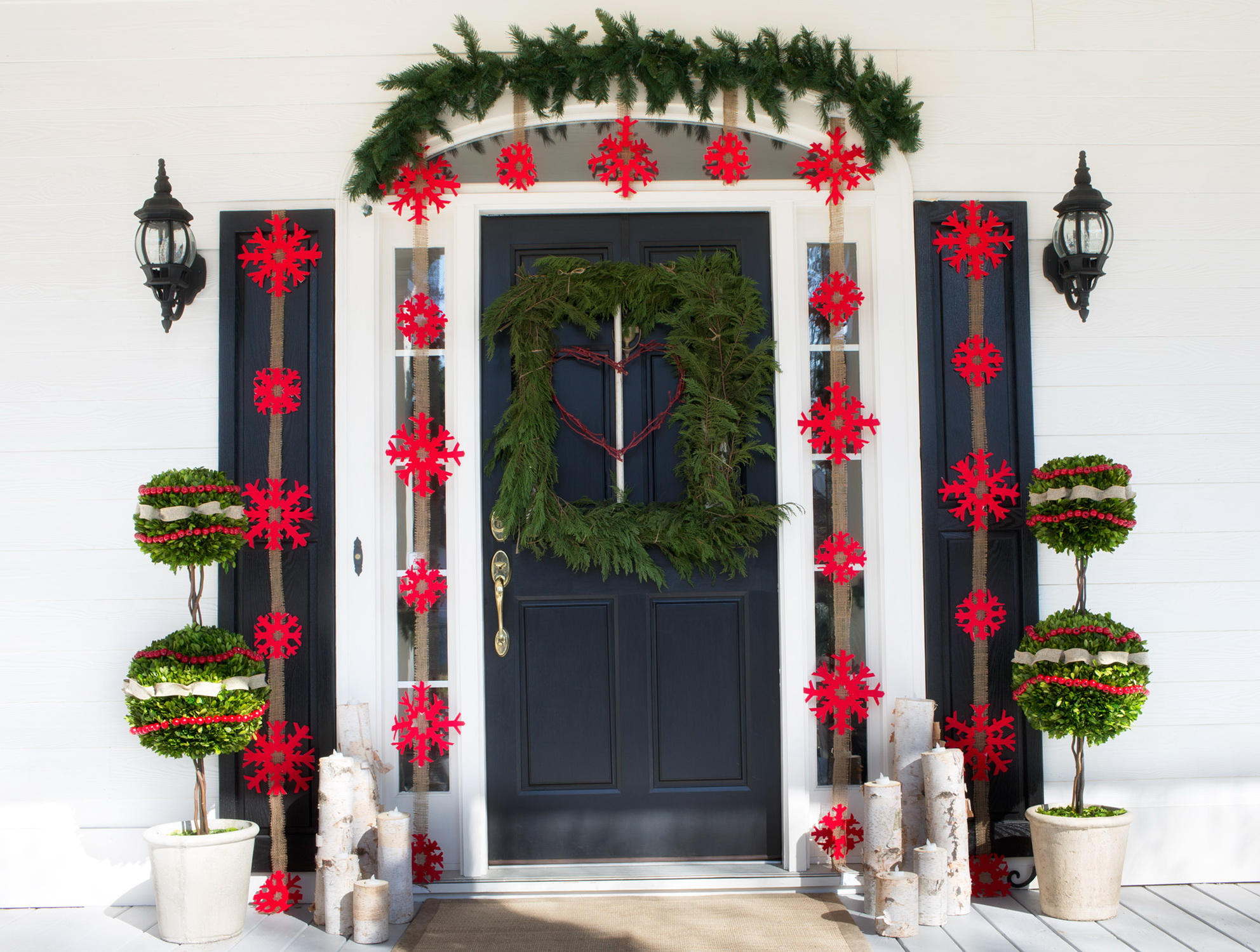 Hgtv Christmas Decorating Ideas Front Porch