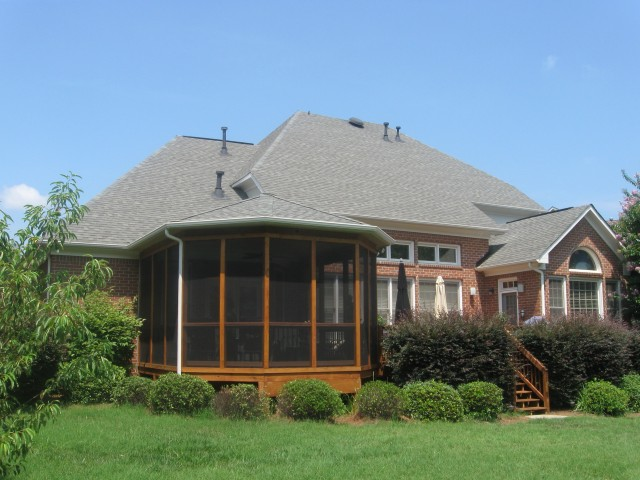 Hip Roof Back Porch