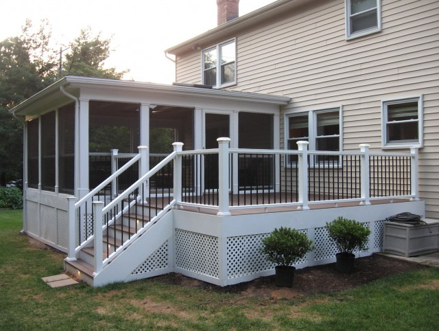 Hip Roof Screened Porch