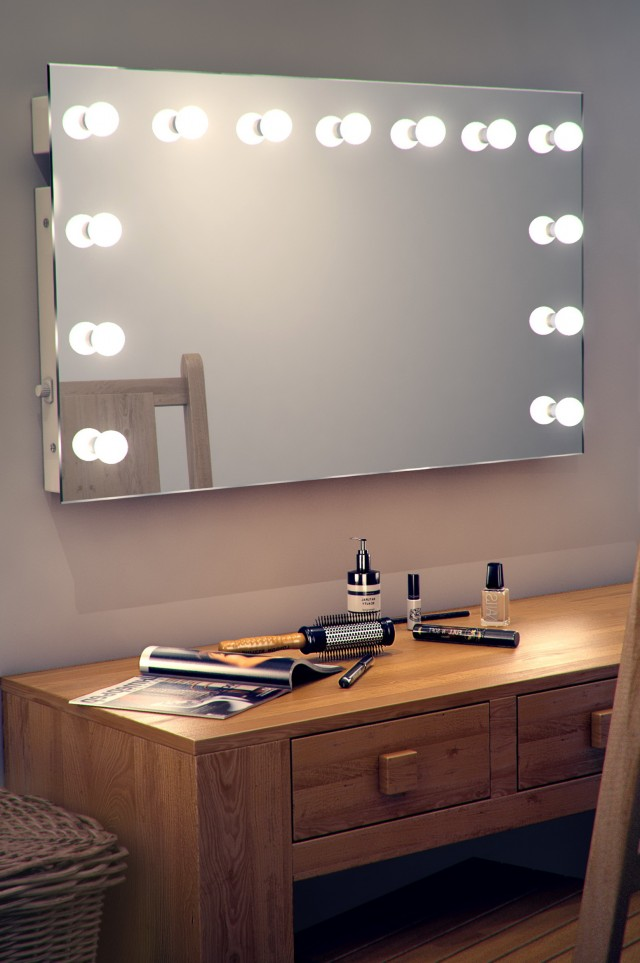 Hollywood Vanity Lights Clipart
