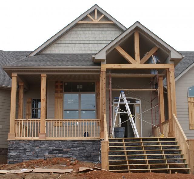 House Front Porch Columns