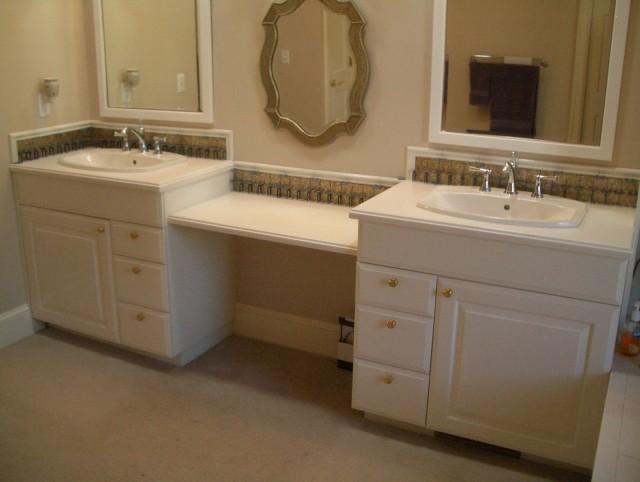 How To Install A Bathroom Vanity Backsplash