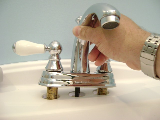 How To Install A Bathroom Vanity Faucet