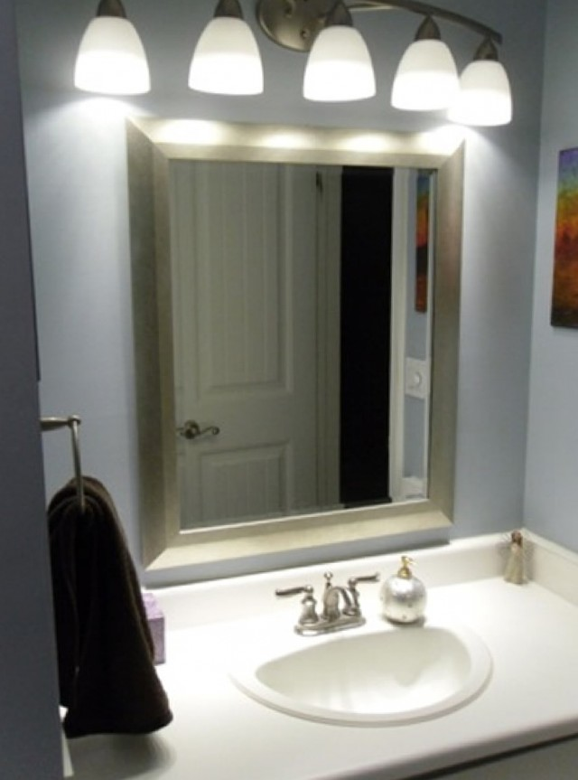 How To Install A Bathroom Vanity Light Fixture