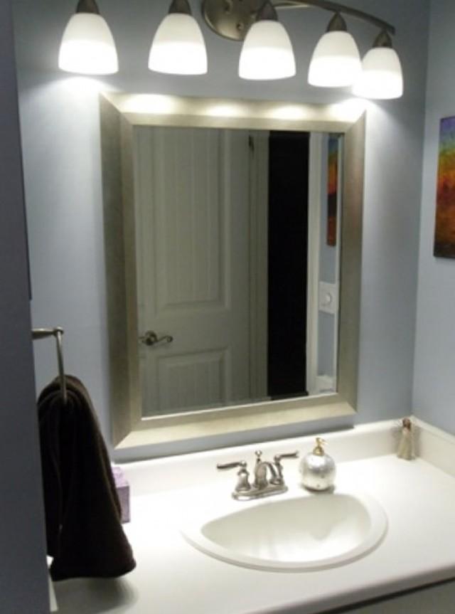 How To Install A Bathroom Vanity Light Fixture