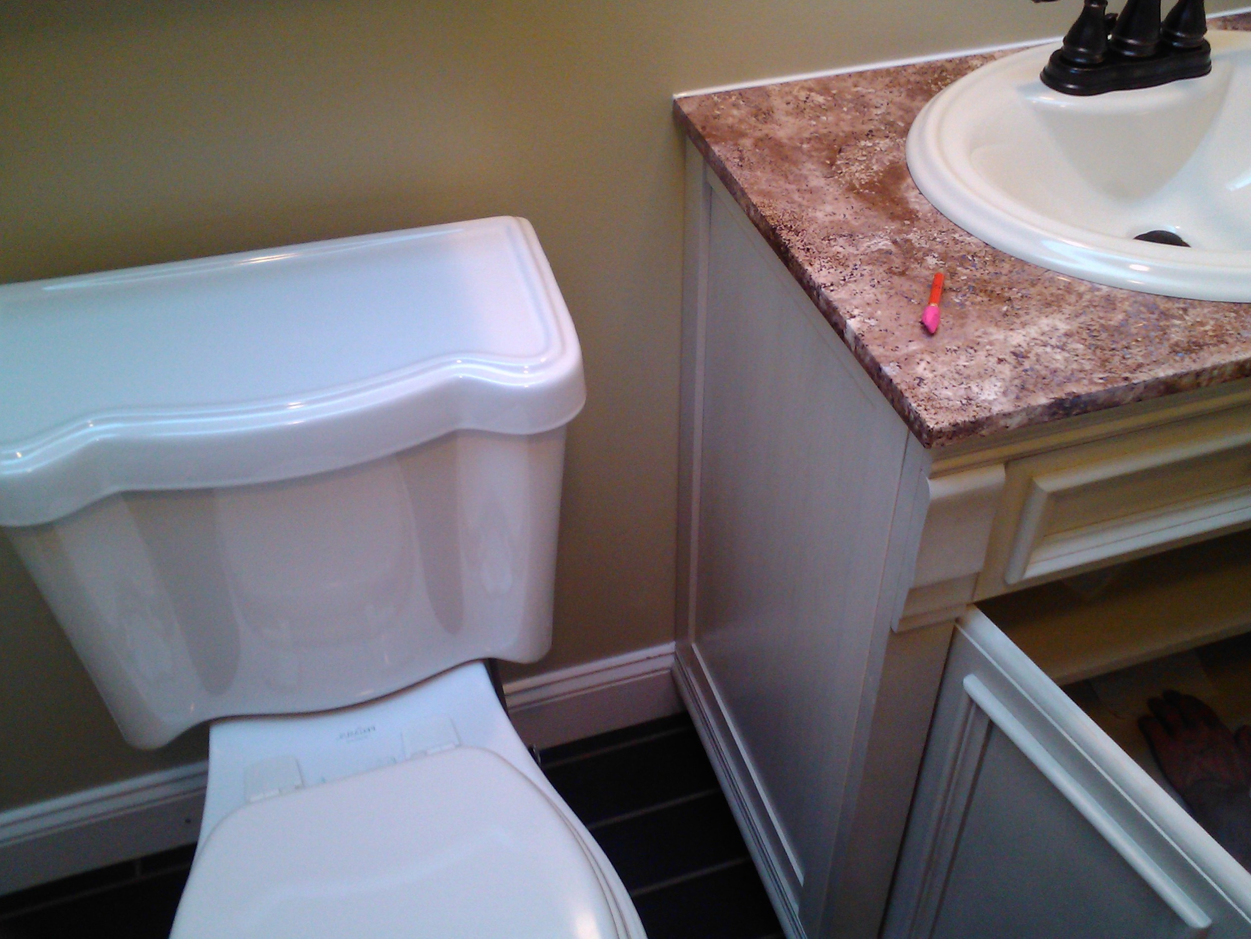 How To Install A Bathroom Vanity Top