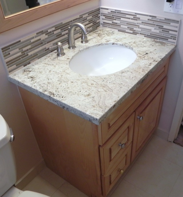 How To Install A Vanity Backsplash