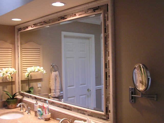 Large Bathroom Vanity Mirrors