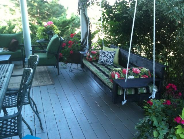 Large Porch Swing Plans