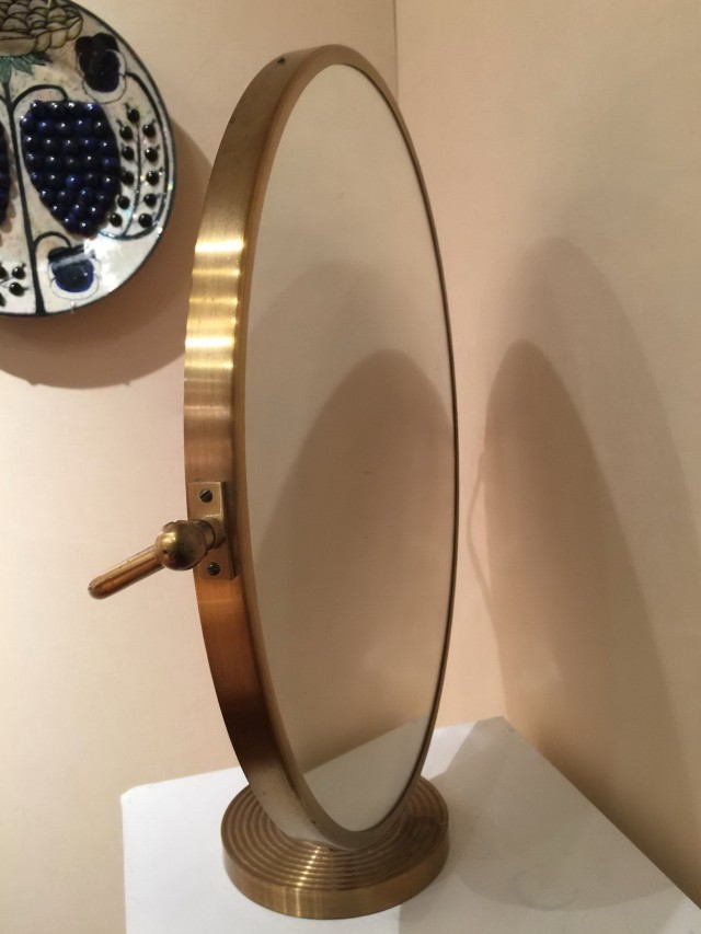 Large Tabletop Vanity Mirror