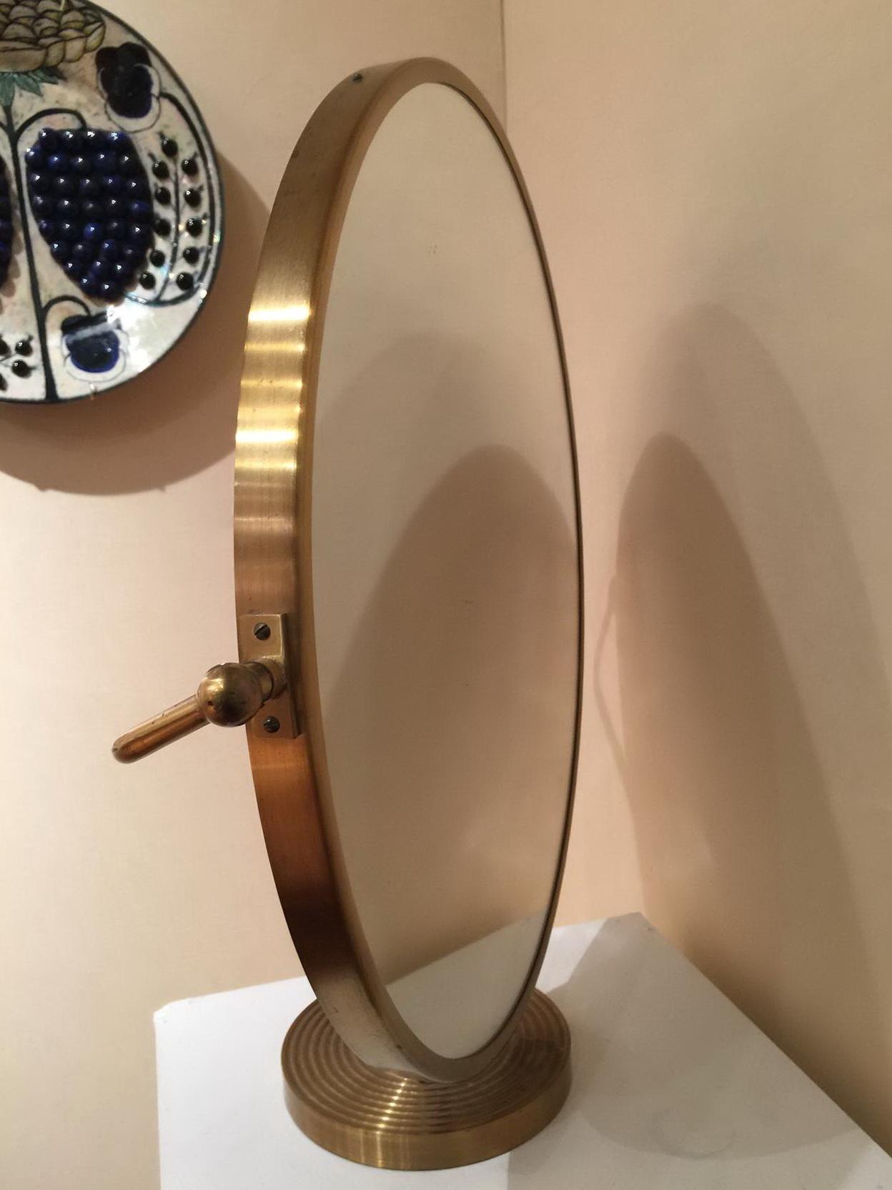 Large Tabletop Vanity Mirror