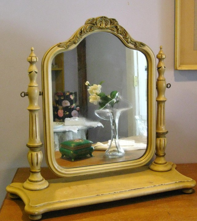Large Vanity Mirror On Stand