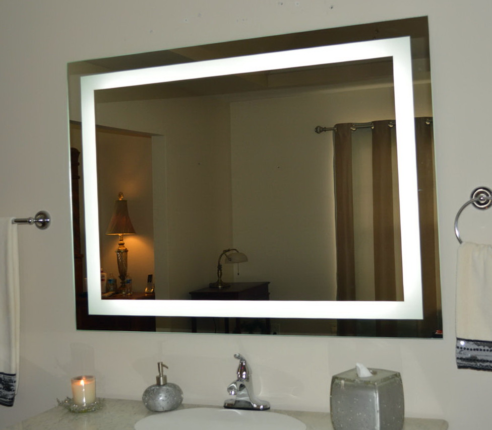 Large Vanity Mirror With Lights