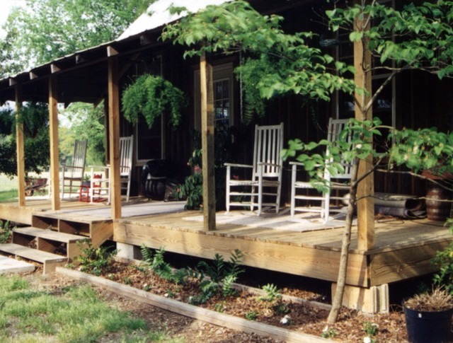 Log Cabin Porches Pictures