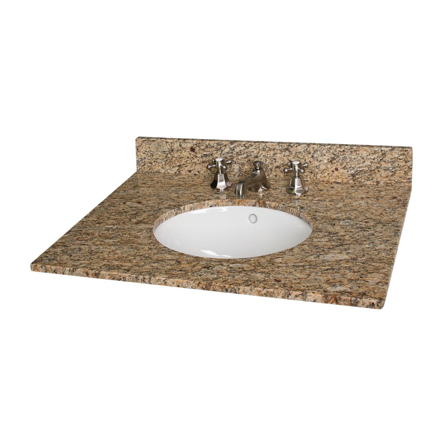 Marble Vanity Top With Undermount Sink