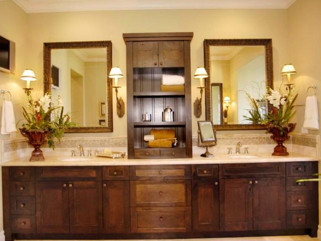 Master Bathroom Double Sink Vanity