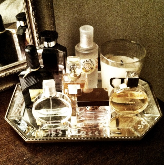 Mercury Glass Vanity Tray