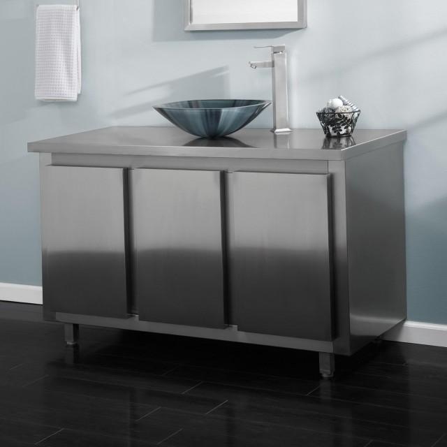 Metal Bathroom Vanity Tops