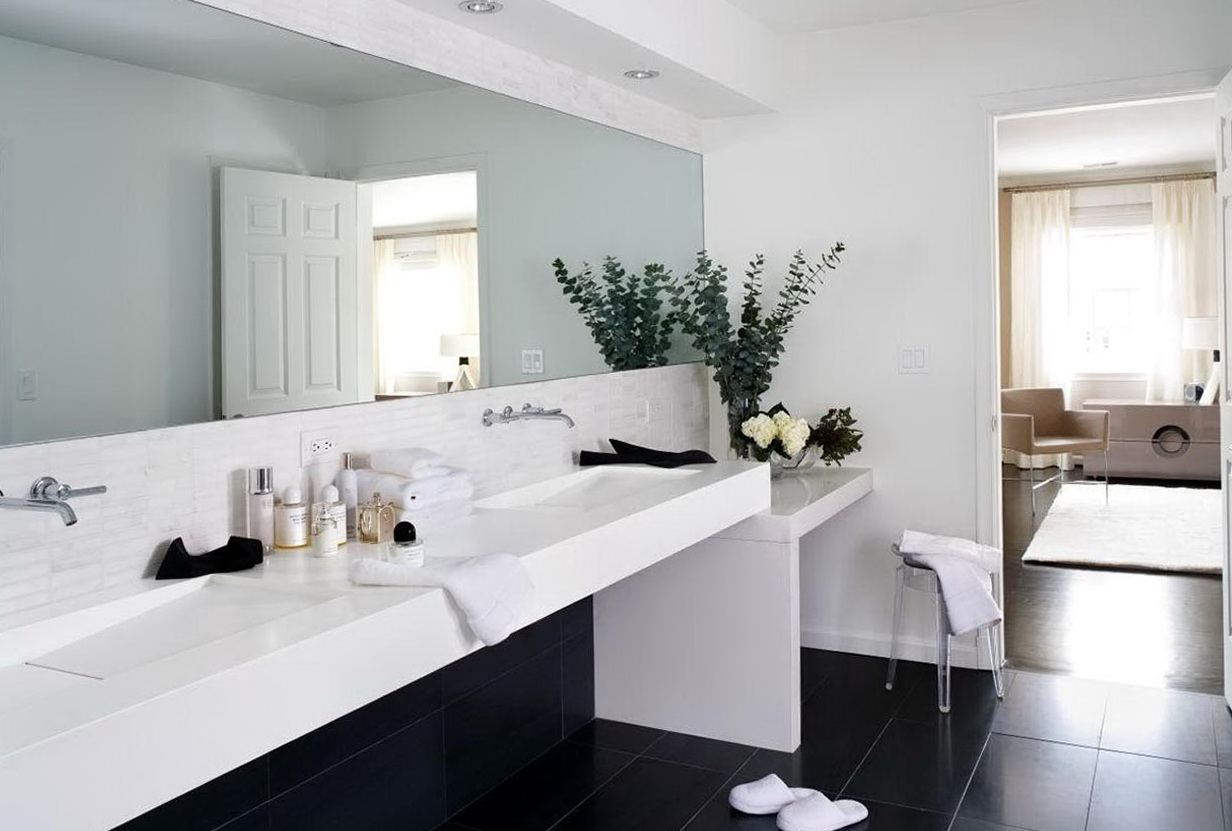 Modern Bathroom Vanities White
