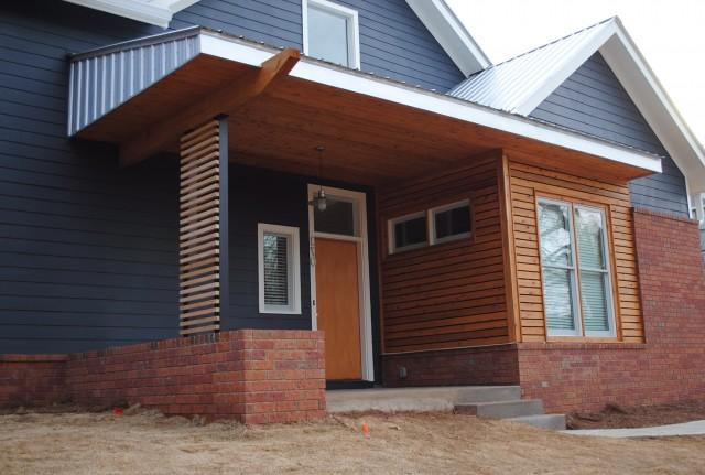 Modern Front Porch Cedar