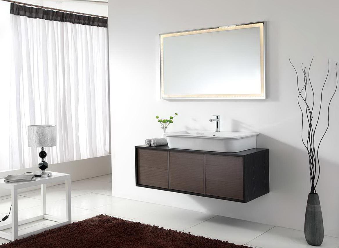 Modern Wall Mounted Bathroom Vanities
