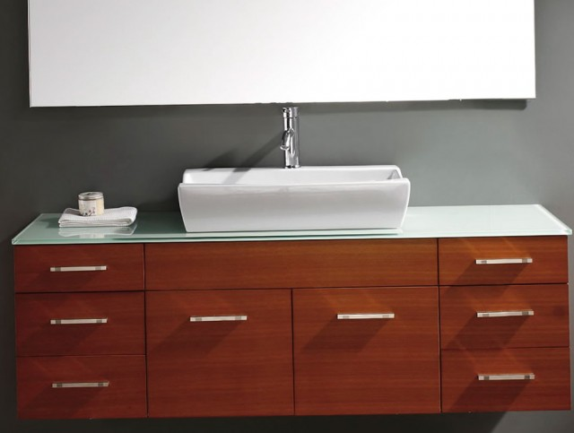 Modern Wall Mounted Vanities