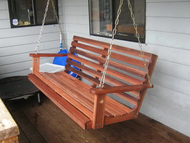Oak Porch Swing Plans