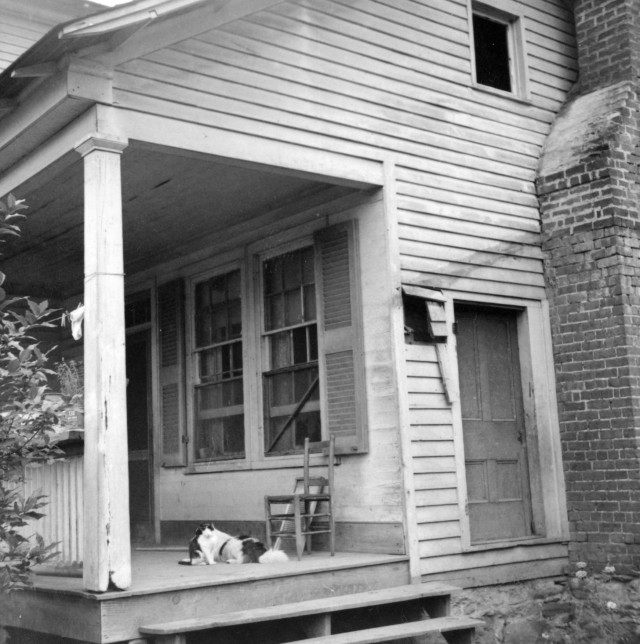 Old House With A Porch