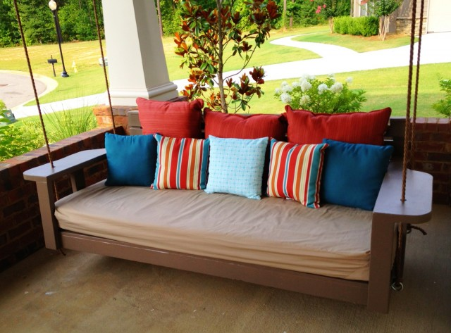 Oversized Porch Swing Bed