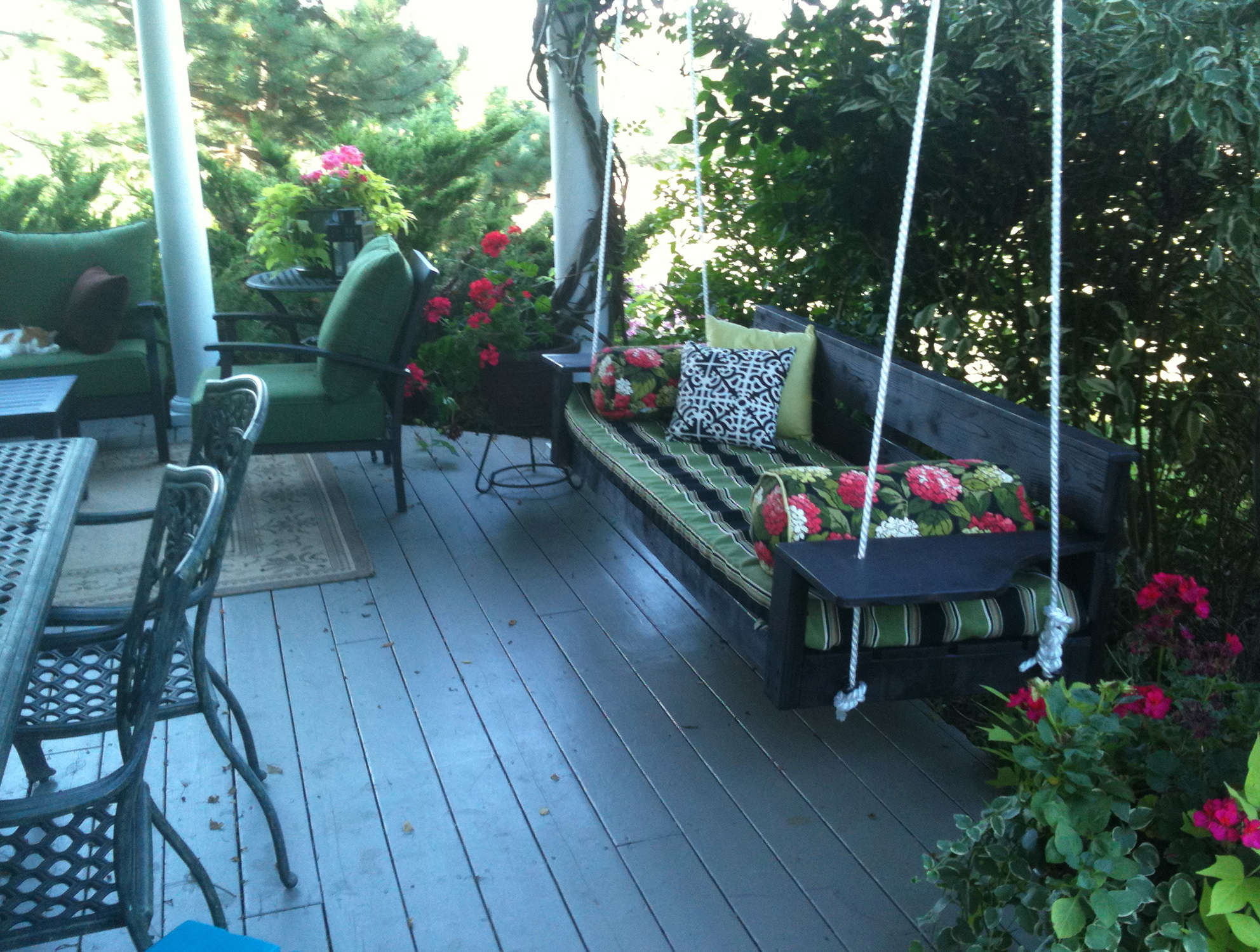 Oversized Porch Swing Plans