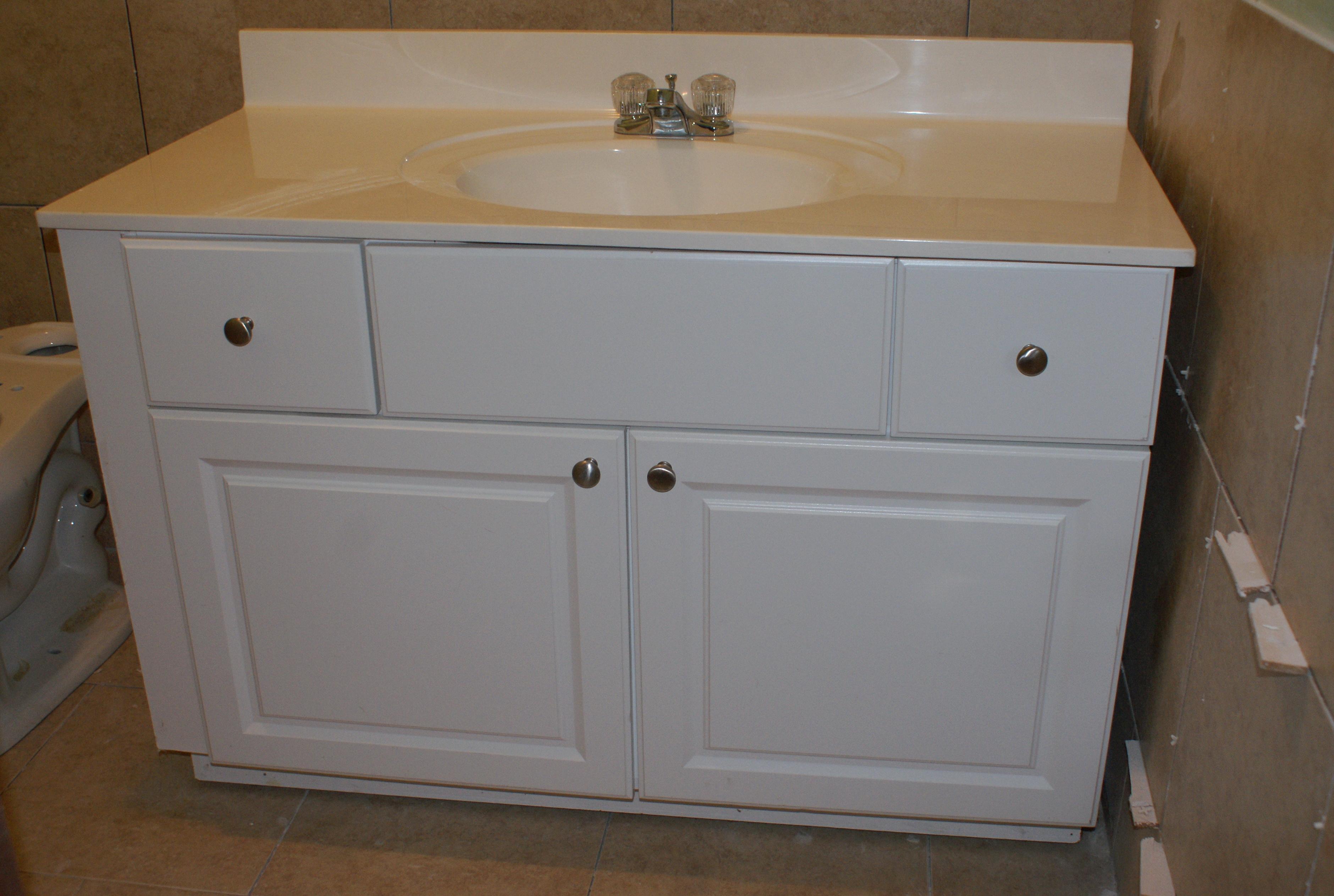Painting A Bathroom Vanity Top