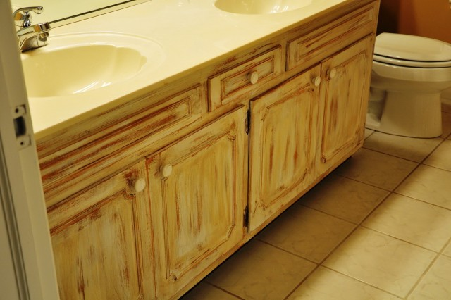 Painting A Bathroom Vanity With Chalk Paint