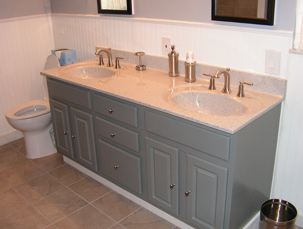 Painting A Bathroom Vanity Without Sanding